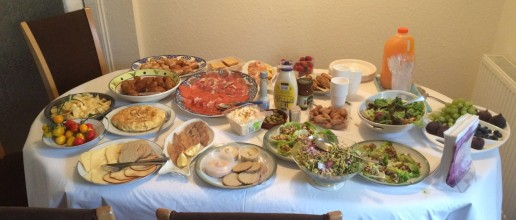 What a spread!